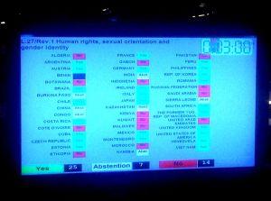 votación OSIG -ONU