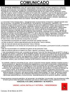 COMUNIKDO DDV- MARZO 2015